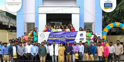 First NEBOSH Gold Learning Partner in India